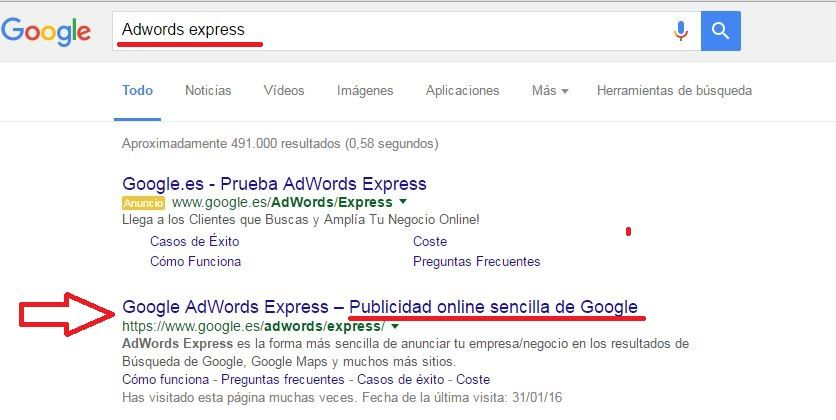 adwords express seo local 2