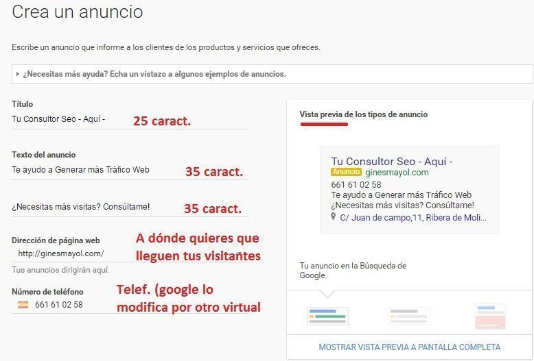 adwords express seo local 9