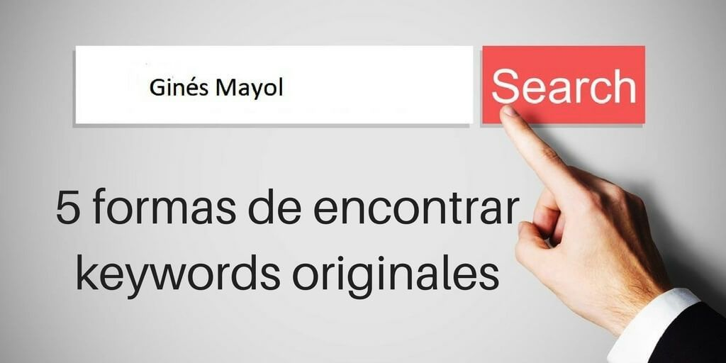 como encontrar keywords originales