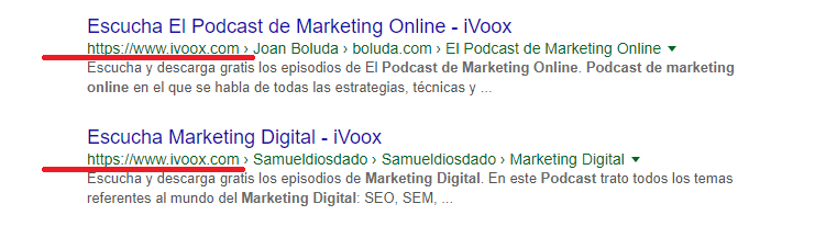 podcast seo ivoox