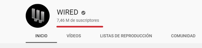 trafico wired youtube